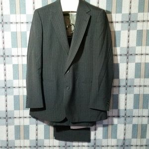 VTG 80's Ally St George 2pc Suit 42R Jacket Pants